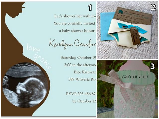 texte pour carte invitation shower de bebe