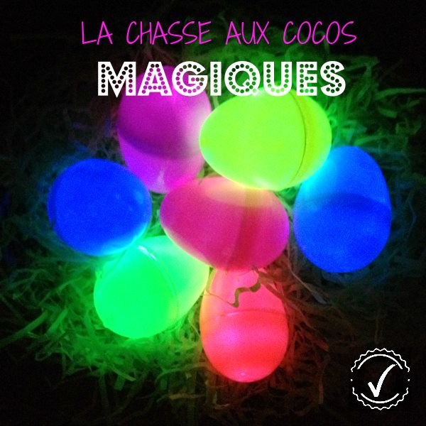oeuf de paques coco chasse idees magique glow in the dark wooloo