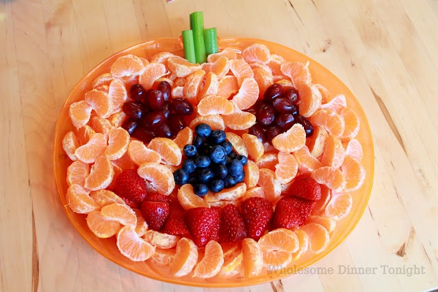 Collations santé pour l'Halloween
