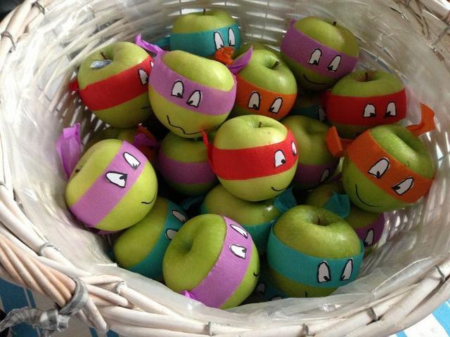 Préférence Fête d'enfants sous le thème des Tortues Ninja - Wooloo HZ18