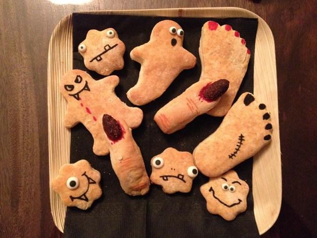 Menu d'Halloween simple pour une petite famille de 4