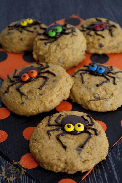 Des biscuits araignées
