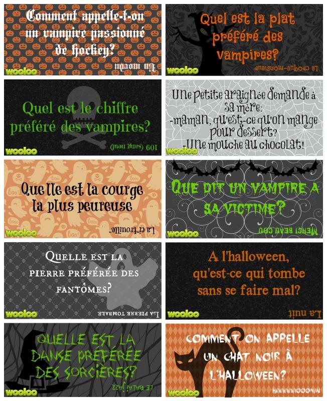 Mettre une touche d'humour à vos lunchs d'Halloween
