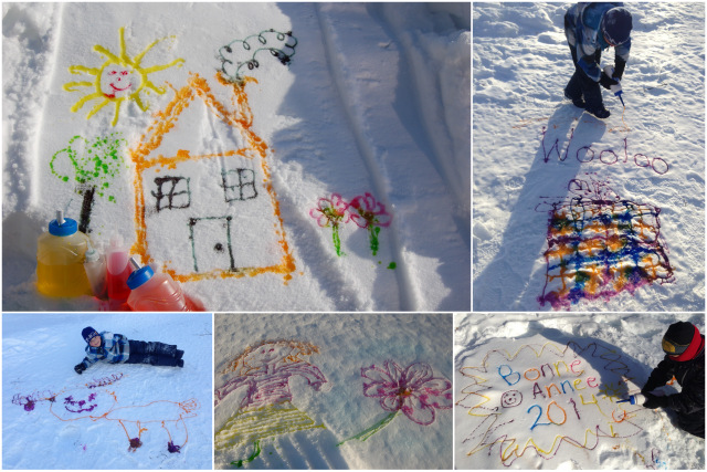 Peinture pour la neige wooloo