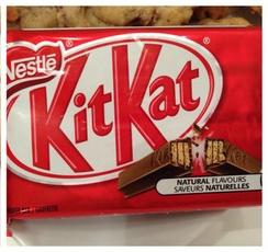 Recette de biscuits avec des Kit Kat par Wooloo