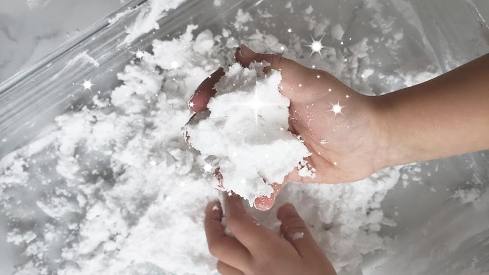 Faire de la neige artificielle (froide!)
