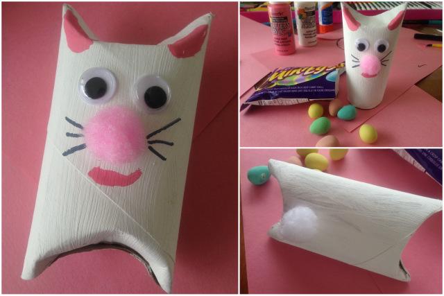 Bricolage de lapin avec une bedaine pleine de bonbons wooloo Magasin de bricolage pour enfant