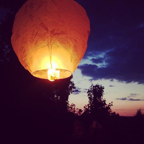 faire voler des lanternes chinoises wooloo