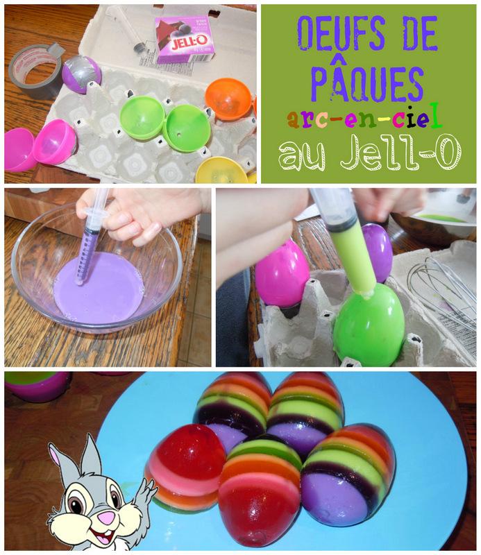œufs de Pâques au Jell-O wooloo
