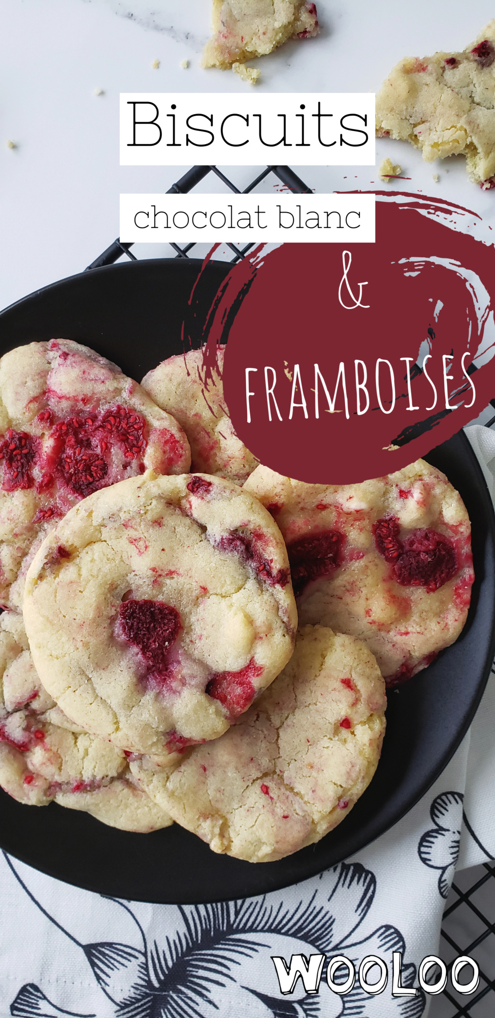 raspberry-raspberry-chocolate-white-wooloo cookies