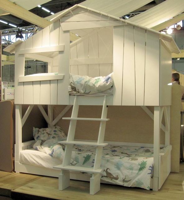 Id es de lits superpos s pour les enfants wooloo for Piani a forma di l per piccoli lotti