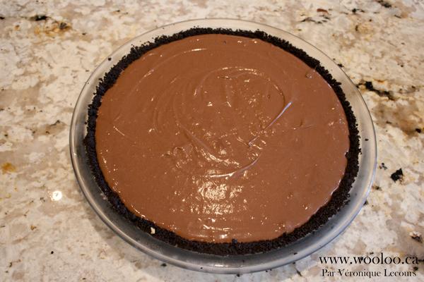 Tarte double chocolat facile et sans cuisson
