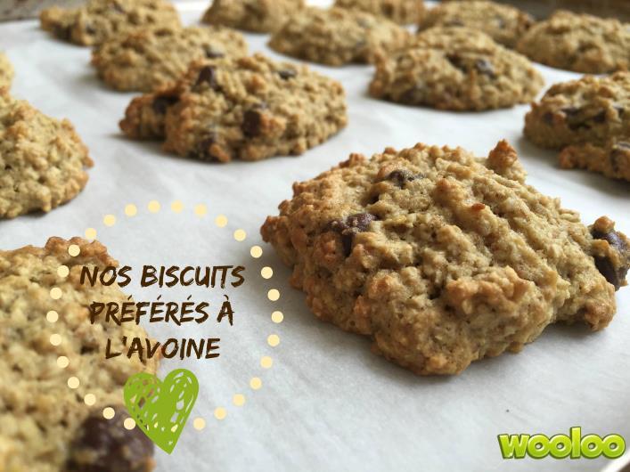 recette banane biscuit avoine wooloo