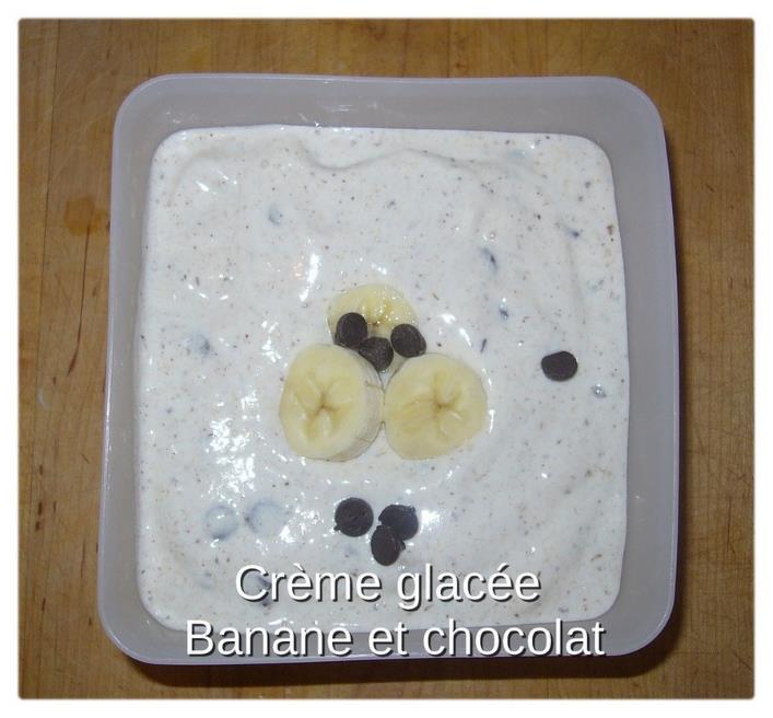 recette banane creme glacee chocolat wooloo