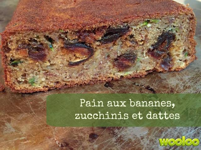 recette banane pain zucchinis dattes wooloo