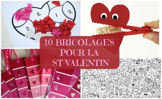 top 10 des bricolages de st valentin wooloo. Black Bedroom Furniture Sets. Home Design Ideas
