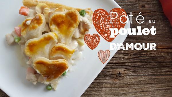 Pâté au poulet / Dindon d'amour!