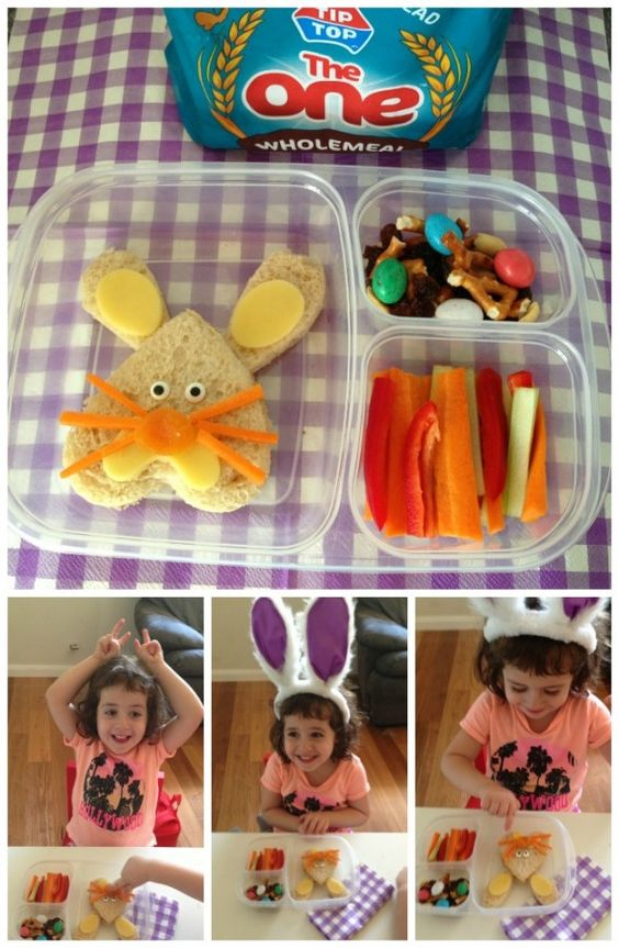 Boîtes à lunch pour Pâques wooloo