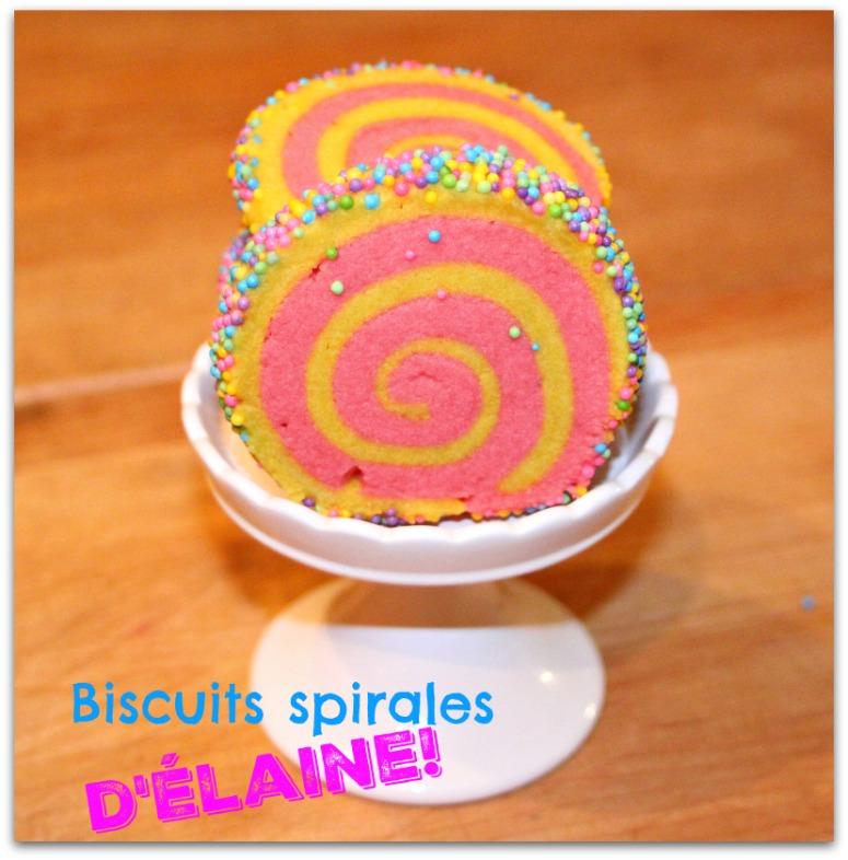 Biscuits spirales de Pâques