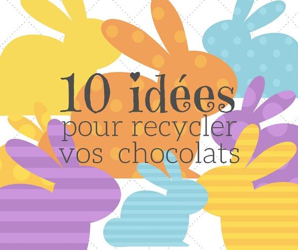10 idées pour recycler vos restants de chocolat Wooloo