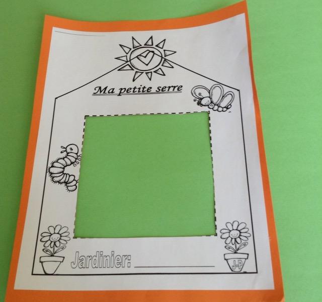 petite serre en papier DIY