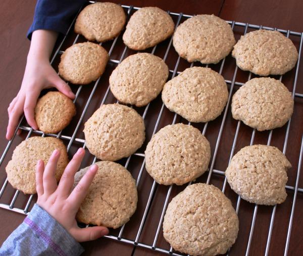 Biscuits à l'avoine et à l'érable
