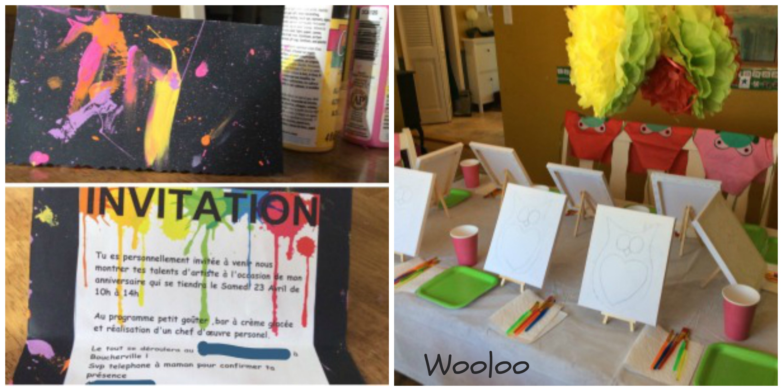 fête d'artiste peintre wooloo
