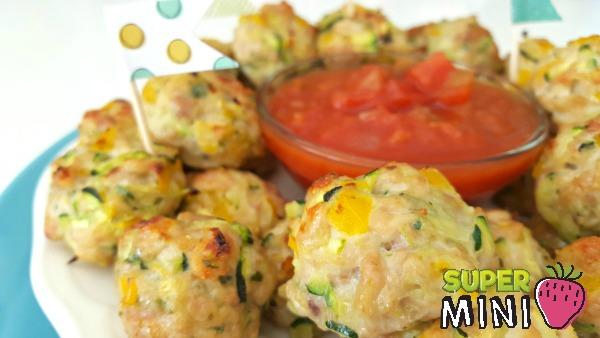 Mini boulettes de poulet Super Mini Wooloo