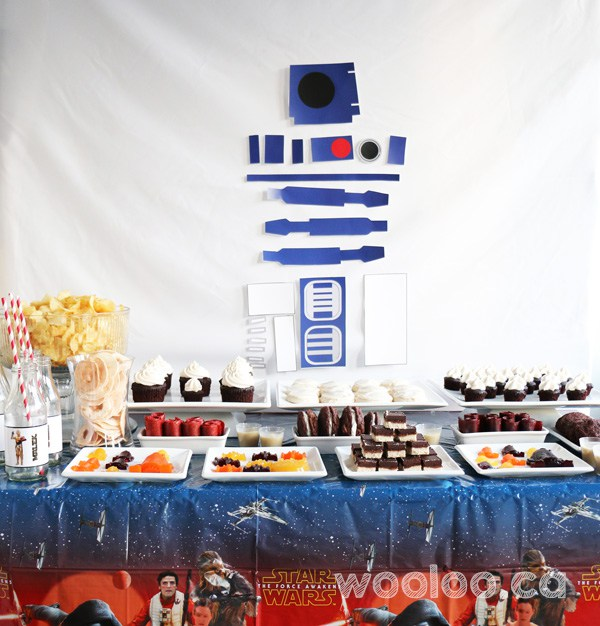 Une fête Star Wars sans allergènes
