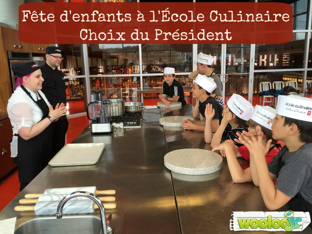 ecole culinaire choix du president Wooloo