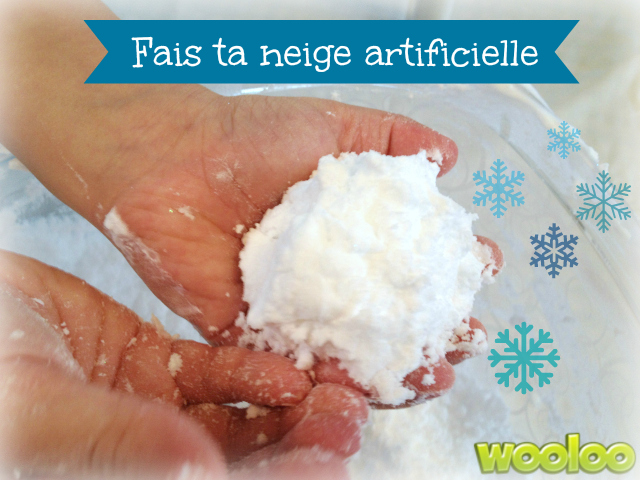 neige artificielle wooloo