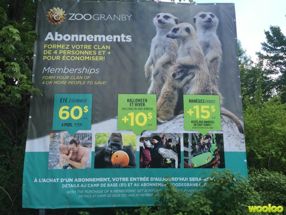 zoo abonnement wooloo