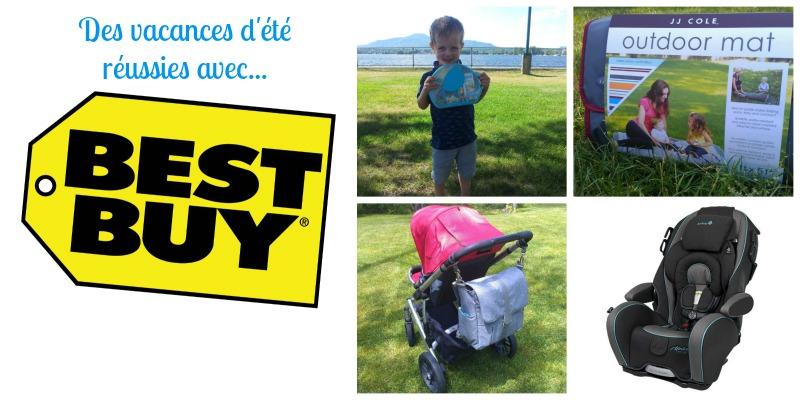 Des vacances d'été réussies avec BestBuy!