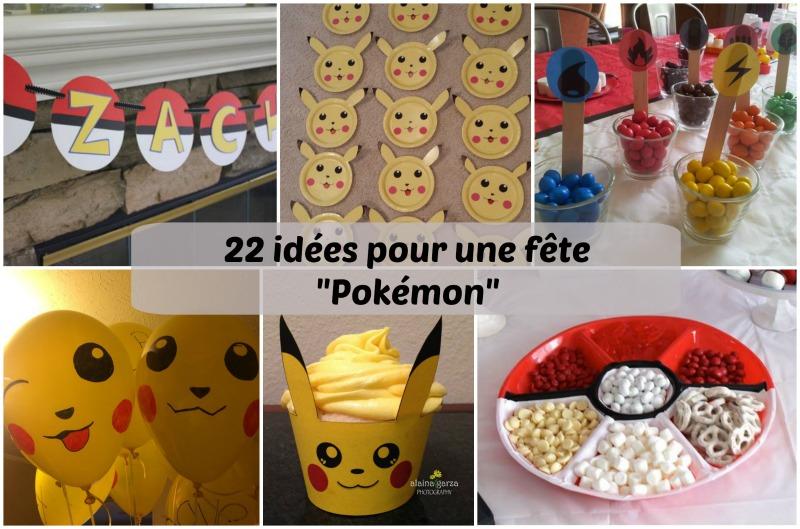 Une fête d'enfants sous le thème des Pokémon!