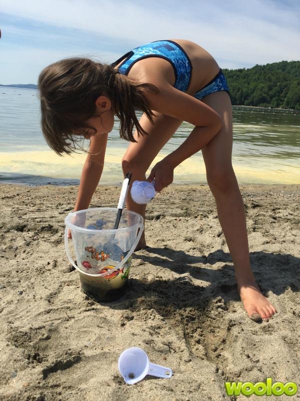 sac de jouets de plage wooloo