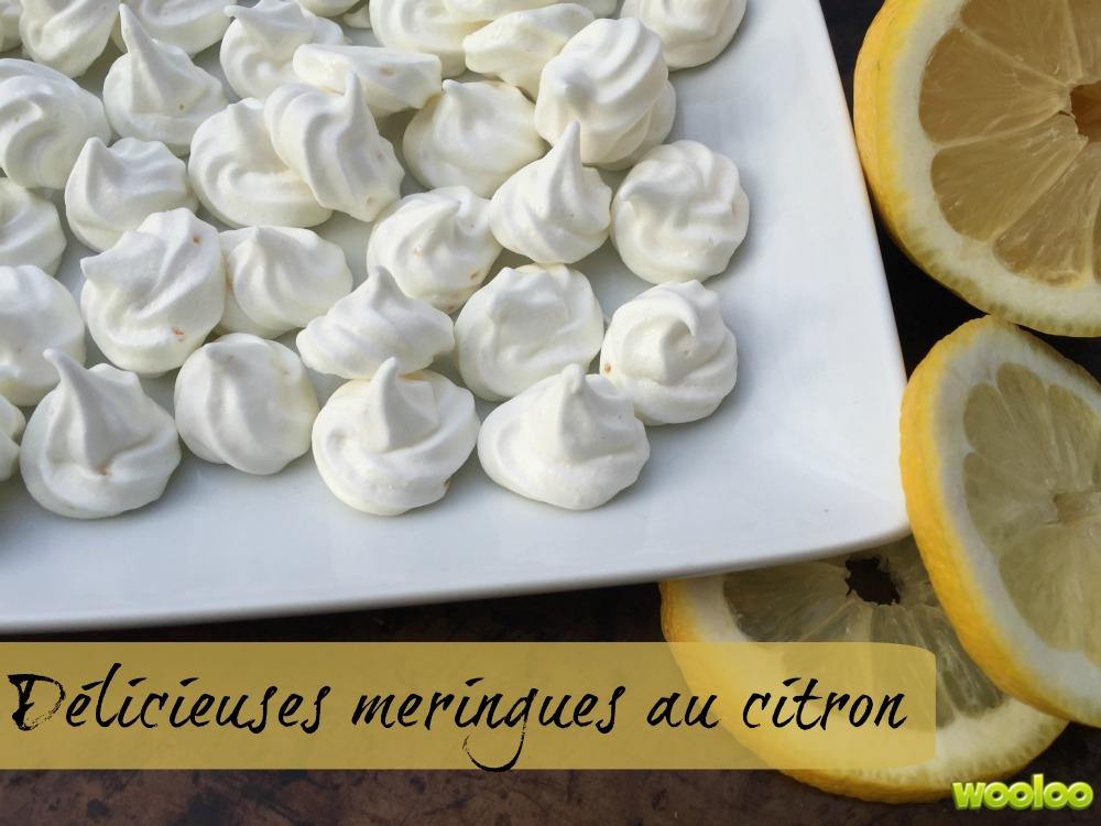 meringues au citron wooloo