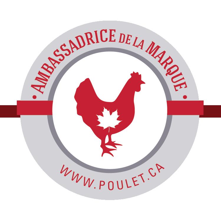 Ambassadrice producteurs de poulet canadiens wooloo