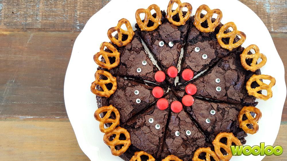 Brownie de Noël Wooloo
