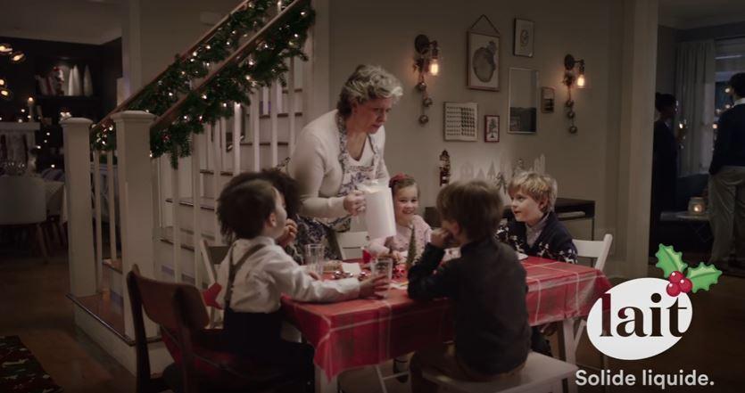 pub de Lait pour Noël
