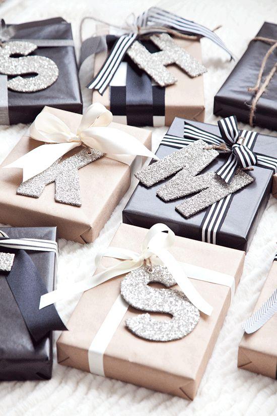 idées pour emballer vos cadeaux de Noël wooloo