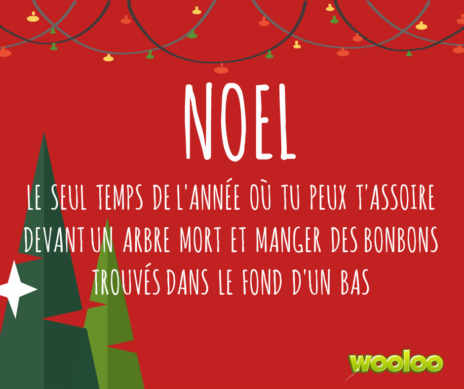 Noël wooloo