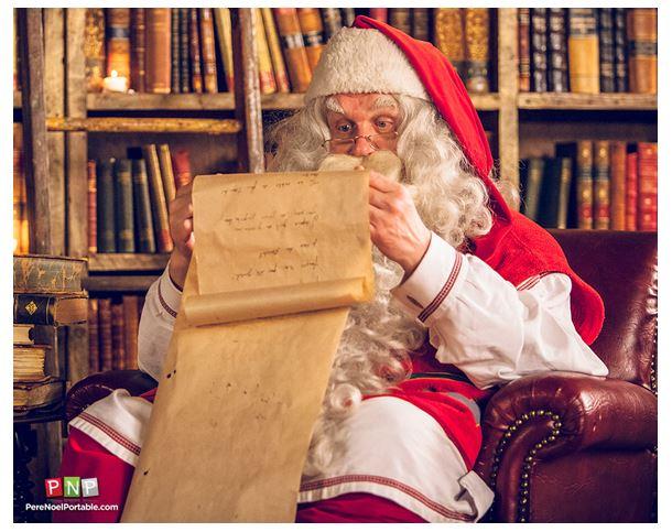message du père Noël Wooloo