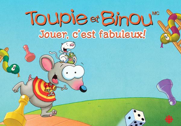 Toupie et Binou Jouer, c'est fabuleux! Wooloo