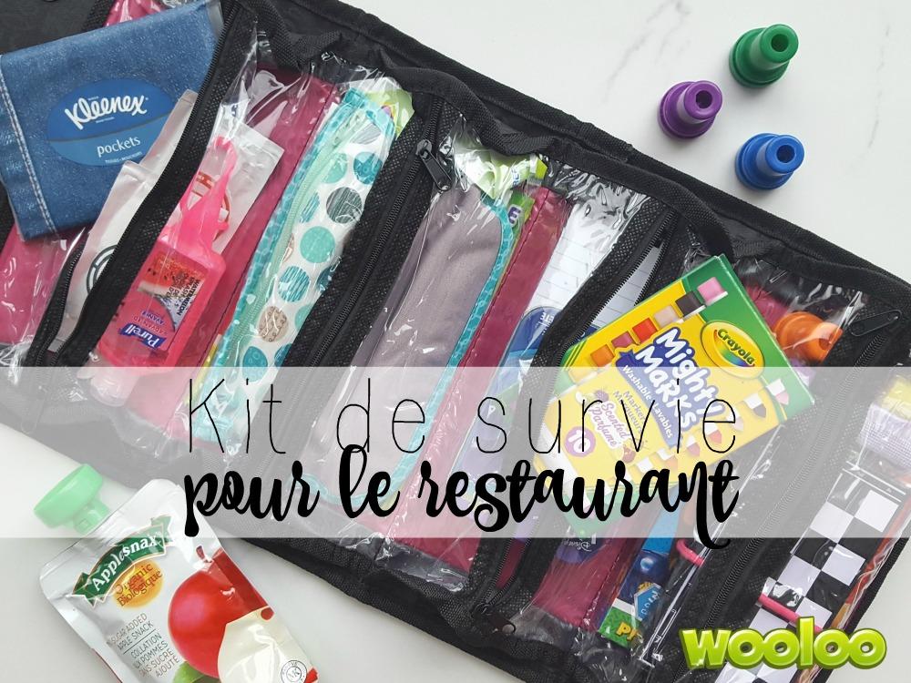 Kit de survie pour le restaurant