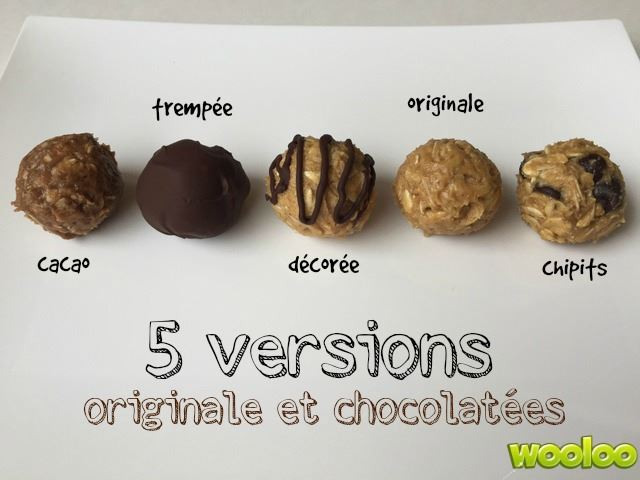 recette boule energie cacao orginale chipits chocolat wooloo
