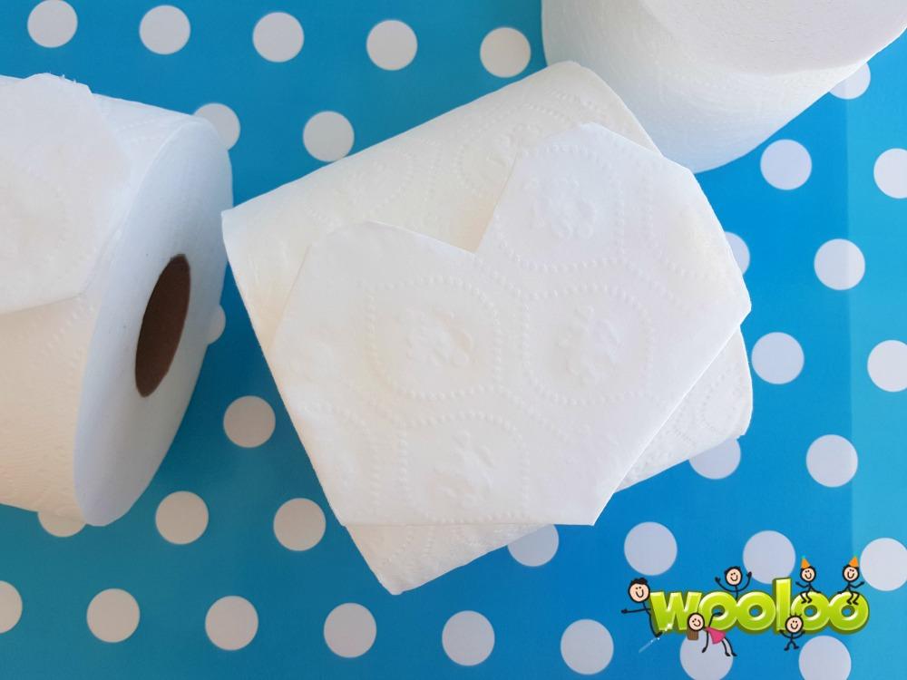 coeur en papier de toilette wooloo