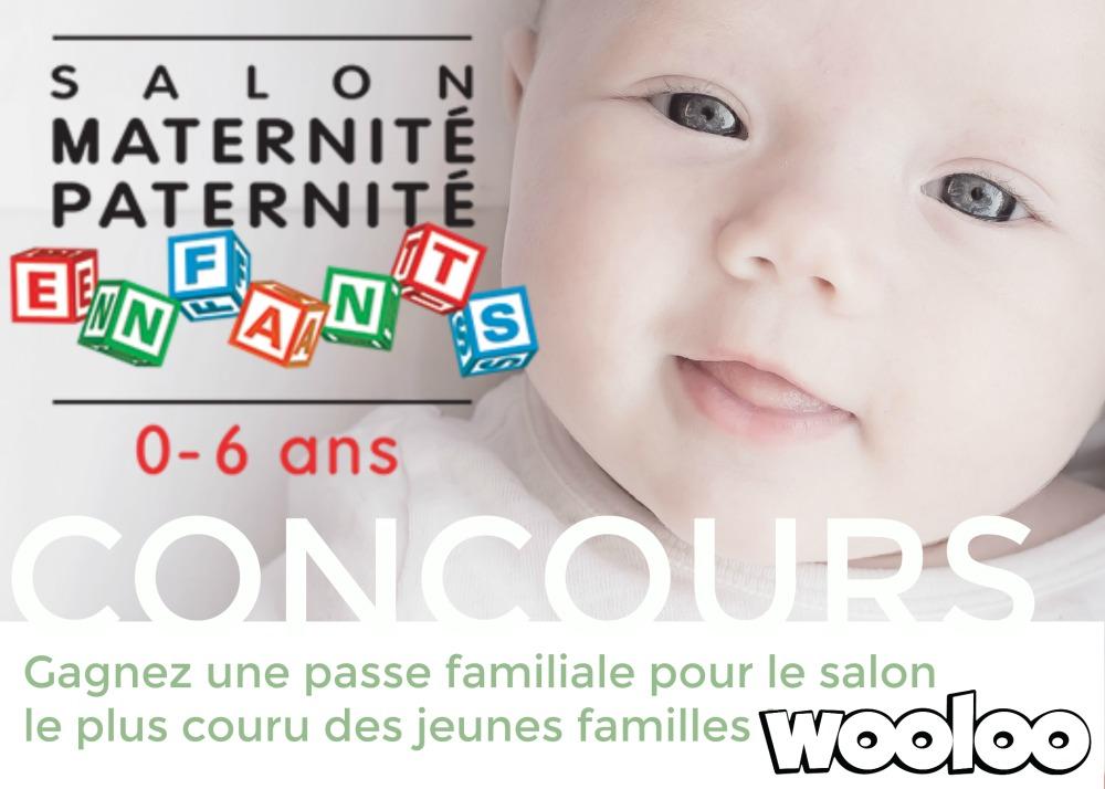 Gagnez votre passe familiale au Salon Maternité Paternité Enfants