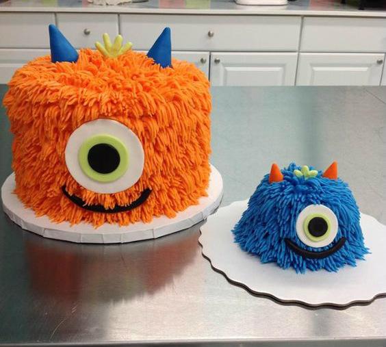 gâteau de monstres