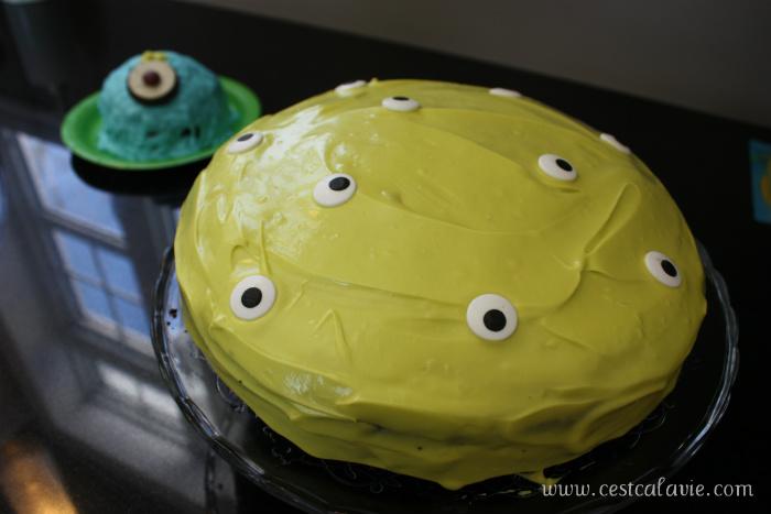 gâteau de monstre