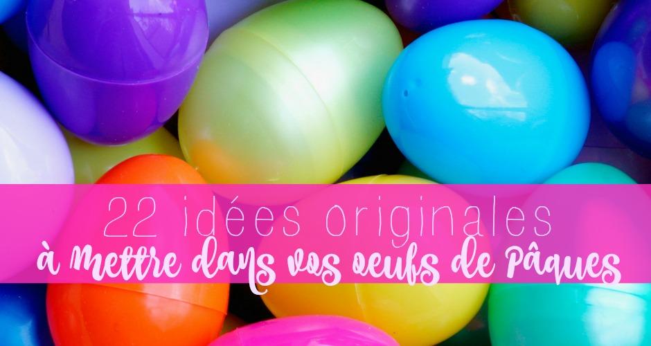 22 idées originales pour vos oeufs de Pâques